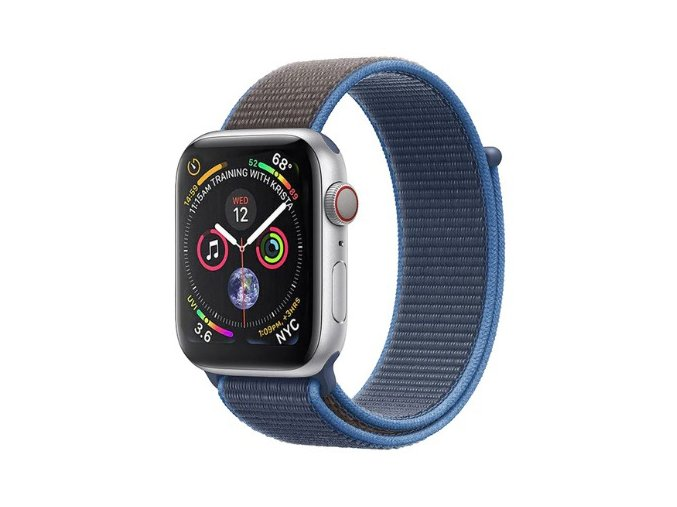 modry ocean provlekaci reminek na suchy zip pro apple watch