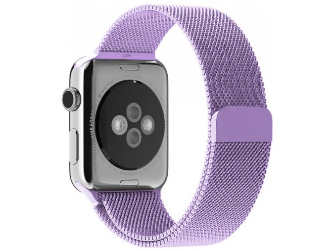 milansky tah magneticky apple watch reminek levandulovy