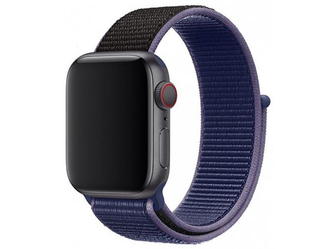 pulnocne modry provlekaci reminek na suchy zip pro apple watch