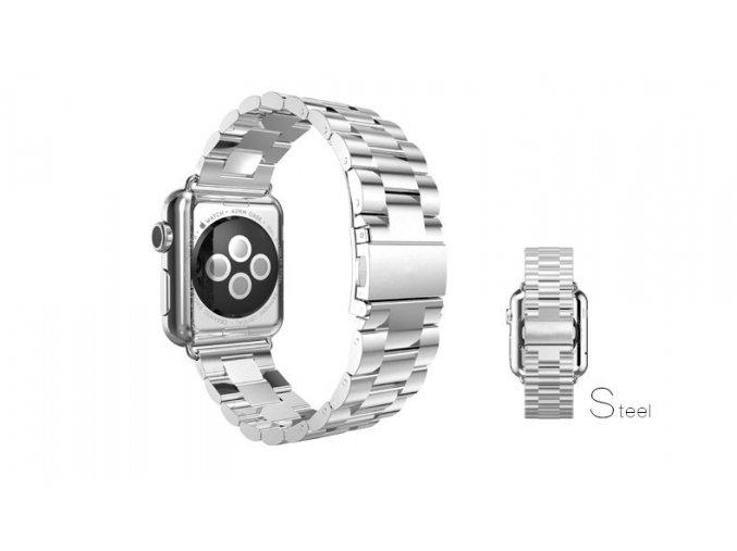 klasicky reminek z nerezove oceli pro apple watch 42 mm stribrny 01
