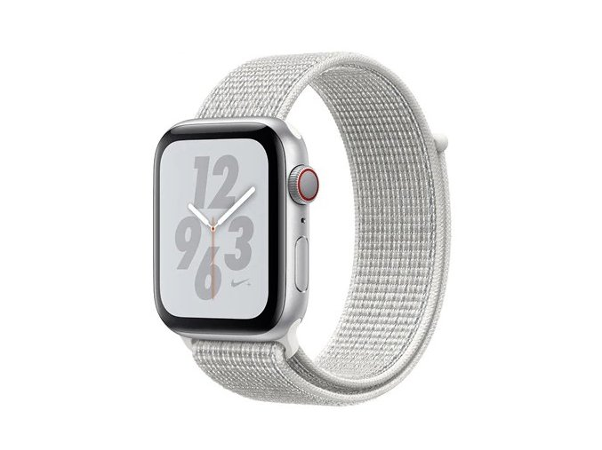 bily provlekaci reminek na suchy zip pro apple watch