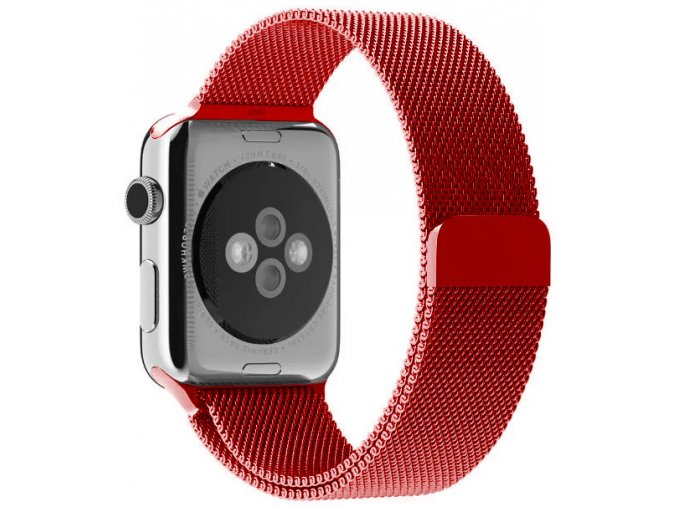 milansky tah magneticky apple watch reminek cerveny