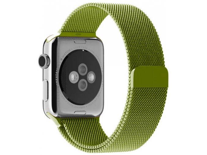 milansky tah magneticky apple watch reminek zeleny