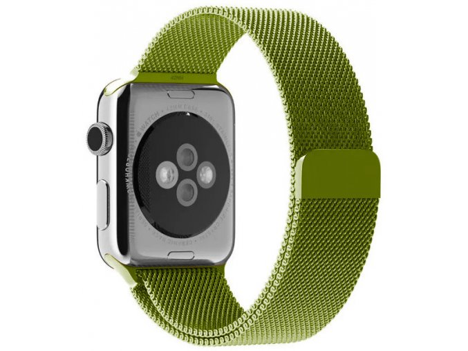 milansky tah magneticky apple watch reminek zeleny