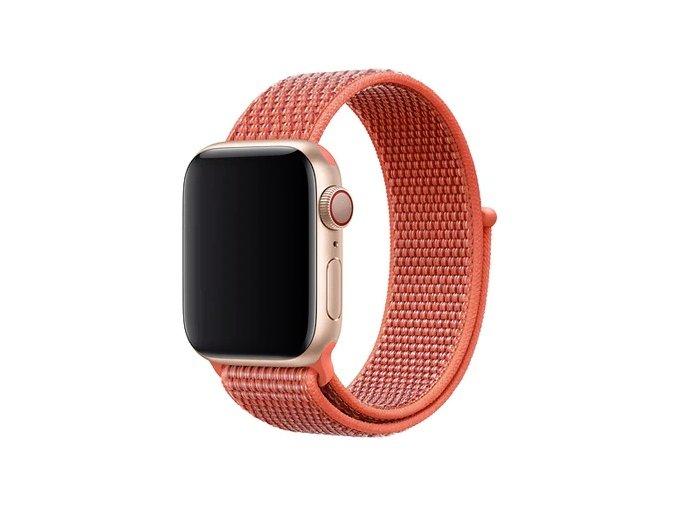nektarinkovy provlekaci reminek na suchy zip pro apple watch