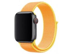 kanarkove zluty provlekaci reminek na suchy zip pro apple watch
