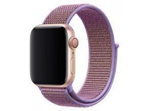lila provlekaci reminek na suchy zip pro apple watch