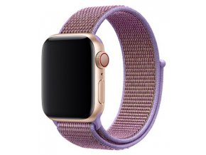 lila provlekaci reminek na suchy zip pro apple watch
