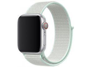 lehce azurovy provlekaci reminek na suchy zip pro apple watch