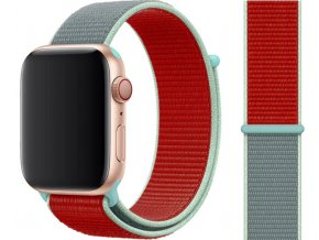 provlekaci reminek na suchy zip pro apple watch cervenomodry