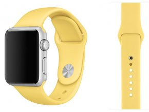 silikon apple watch reminek melounove zluty