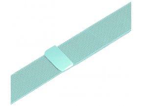 milansky tah s magnetickym zapinanim pro apple watch svetle modry
