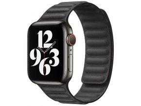 kozeny magneticky reminek pro apple watch 2 generace cerny