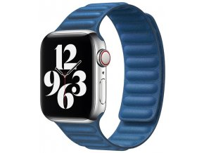kozeny magneticky reminek pro apple watch 2 generace modry