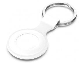 air tag pouzdro silikonove s poutkem bile