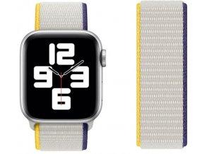 bilomodrozluty provlekaci reminek na suchy zip pro apple watch