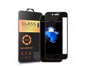 Tvrzené 3D sklo SUNDATOM pro iPhone 7 černé