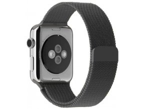 milansky tah magneticky apple watch reminek vesmirne sedy