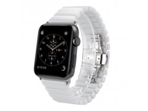 bily keramicky clankovy reminek pro apple watch 01