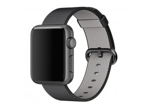reminek nylonovy pleteny apple watch cerny 01