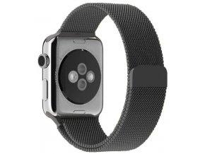 milansky tah magneticky apple watch reminek vesmirne sedy