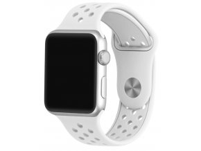 bily reminek s odvetravacimi otvory pro apple watch