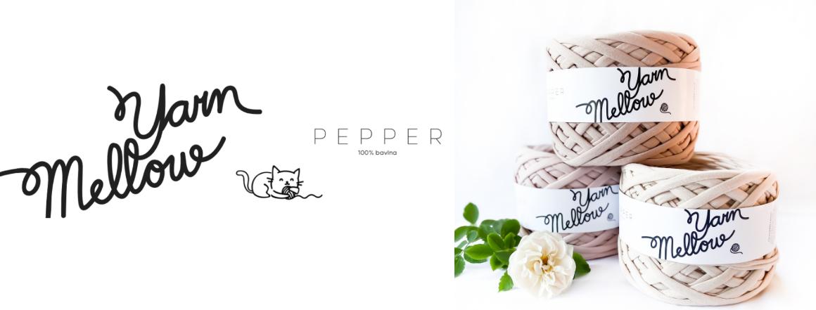 Bavlněné špagáty Pepper