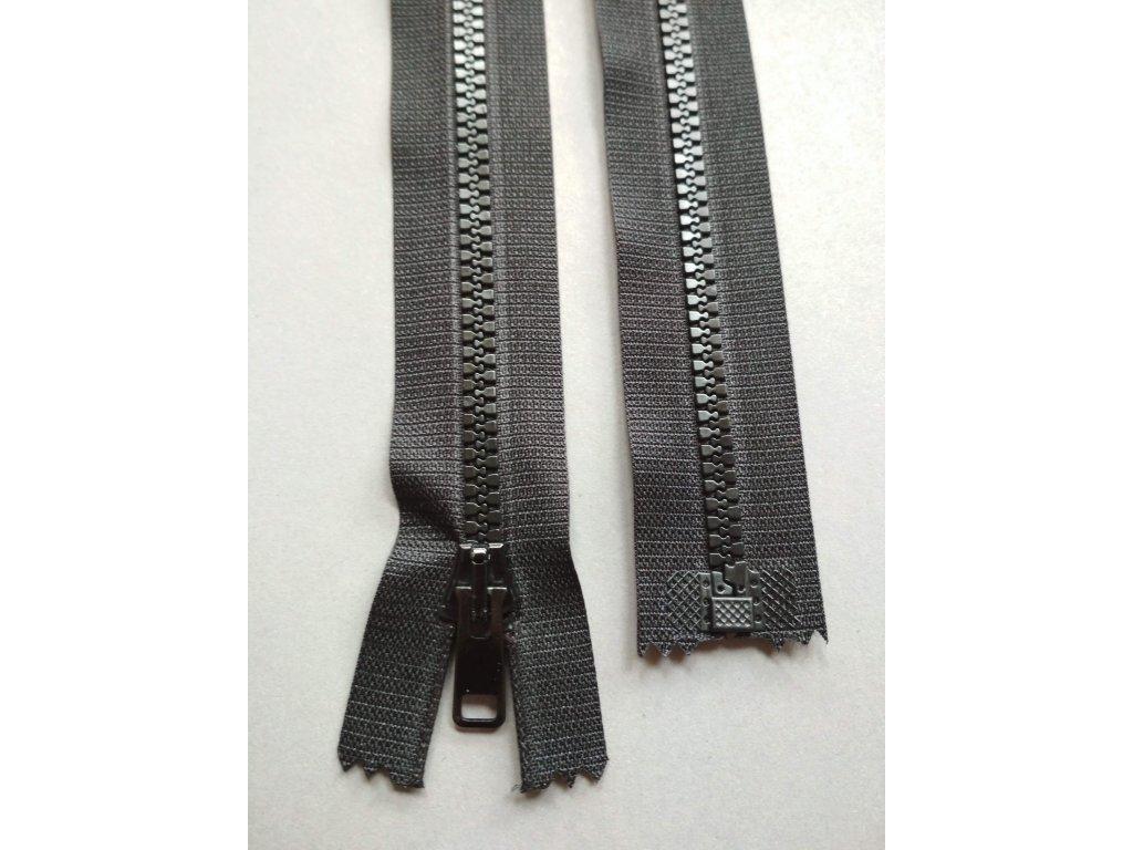 Zip 30 cm černý