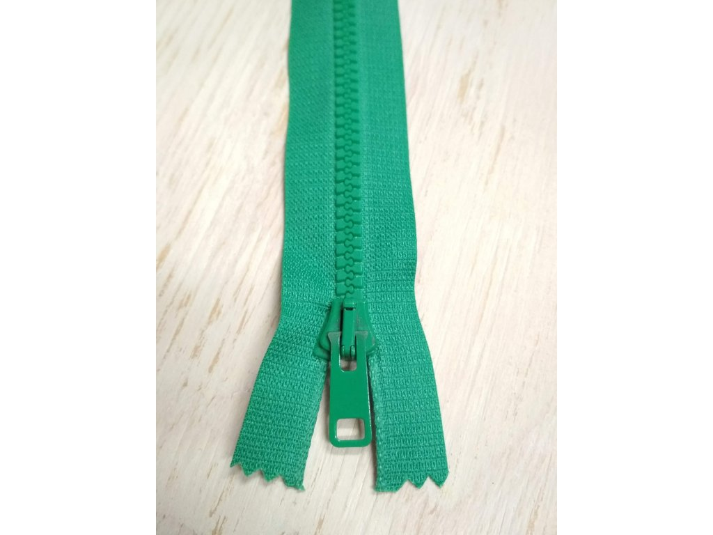 Zip 60 cm zelený
