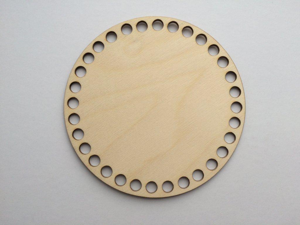 3776 dreveny vyrez kruh 15cm
