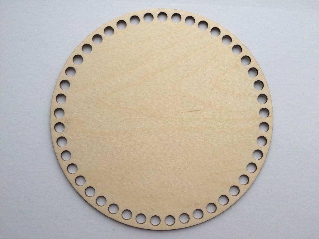 3803 dreveny vyrez kruh 25cm