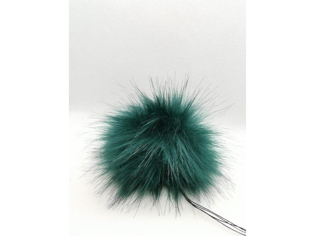 59687 bambule 10 cm smaragdova