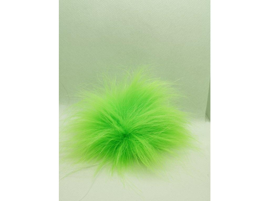 59699 bambule 10 cm zelena neon