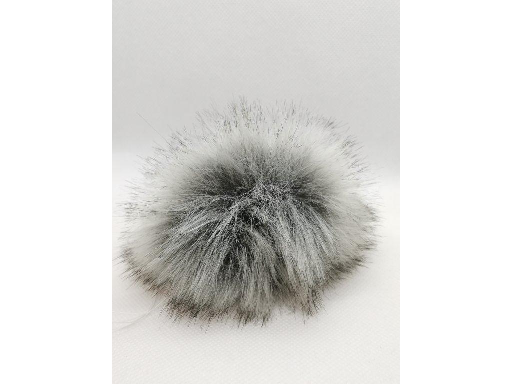 59768 bambule 15 cm sedy vlk kratky chlup