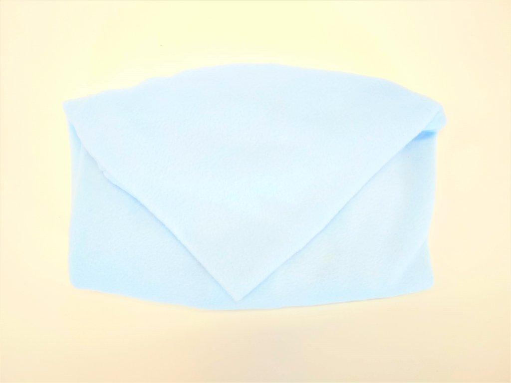 9431 vak do pufu 40x30 cm svetle modry