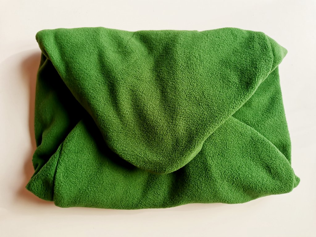 14633 3 vak do pufu 40x30 cm tmave zeleny