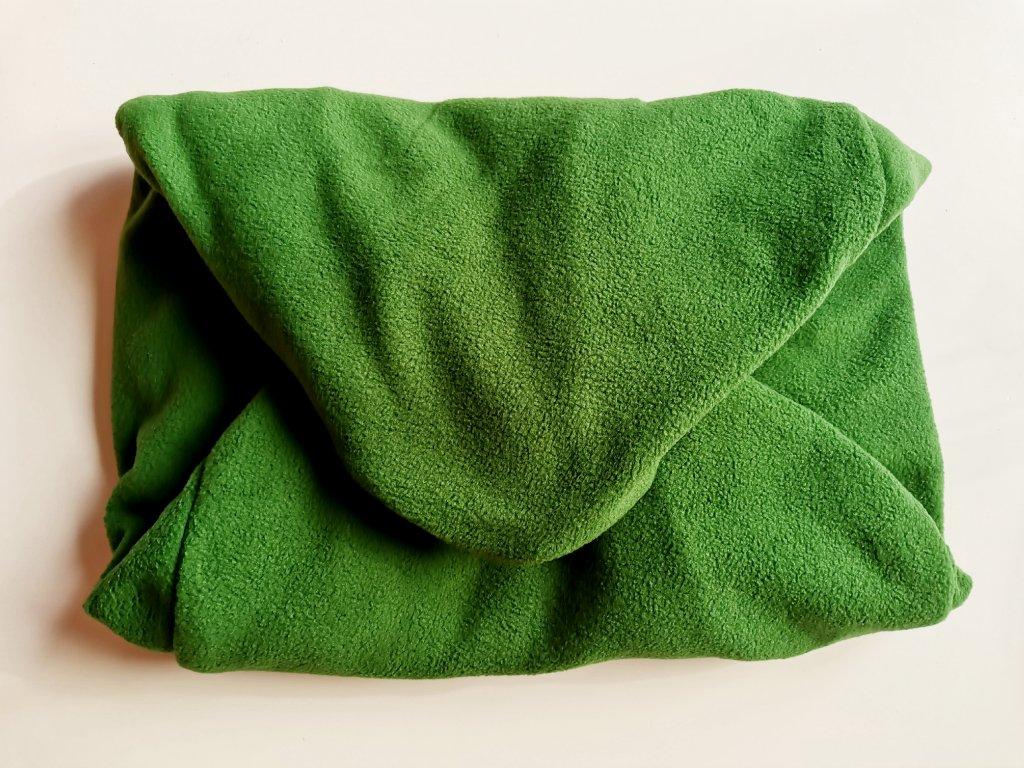 14636 3 vak do pufu 50x20 cm tmave zeleny