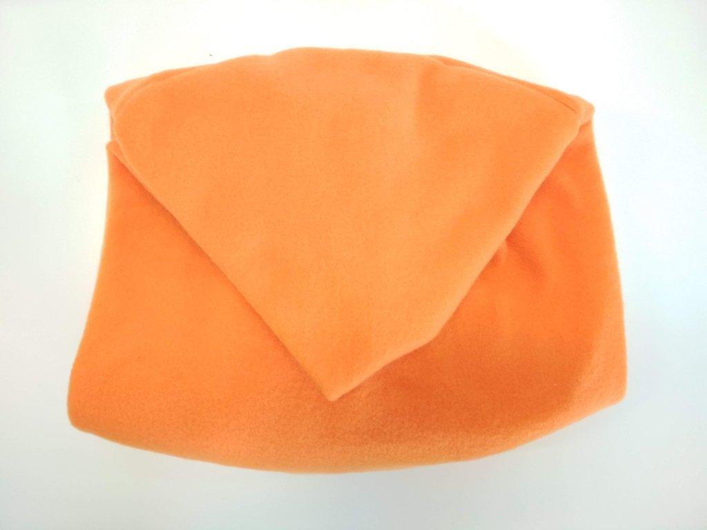 9449 vak do pufu 50x35 cm oranzovy