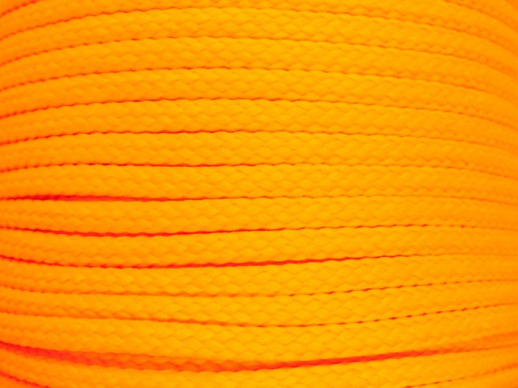Polyesterová šňůra YarnMellow Loopy Dukátová