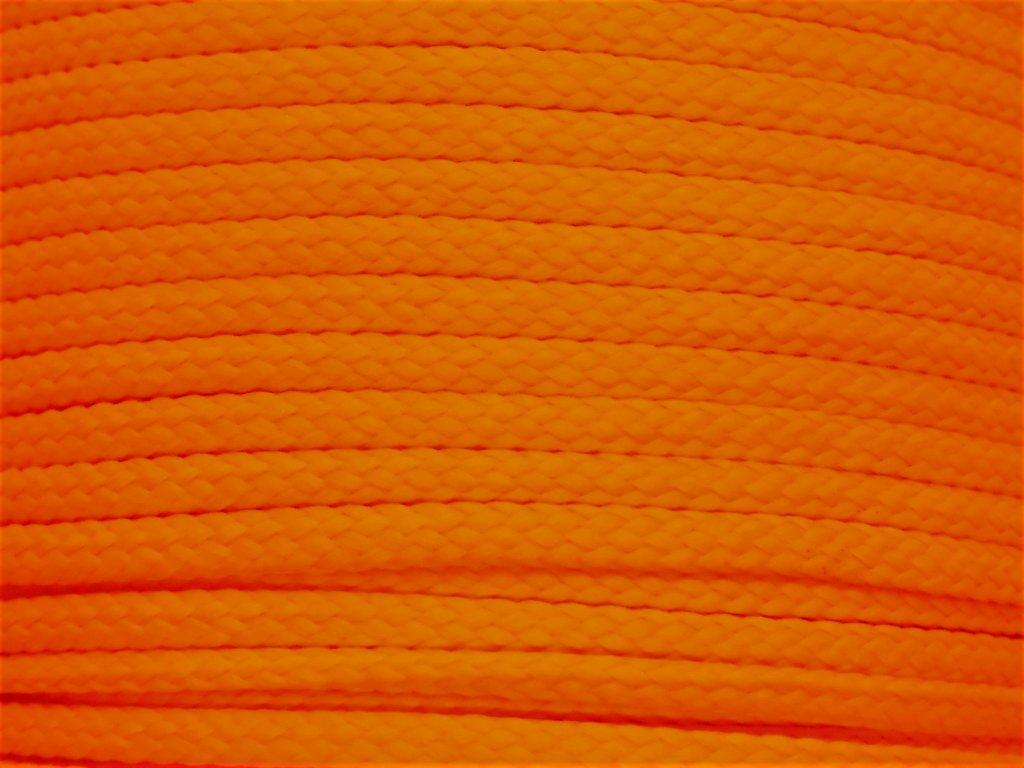 Polyesterová šňůra YarnMellow Loopy Pomeranč