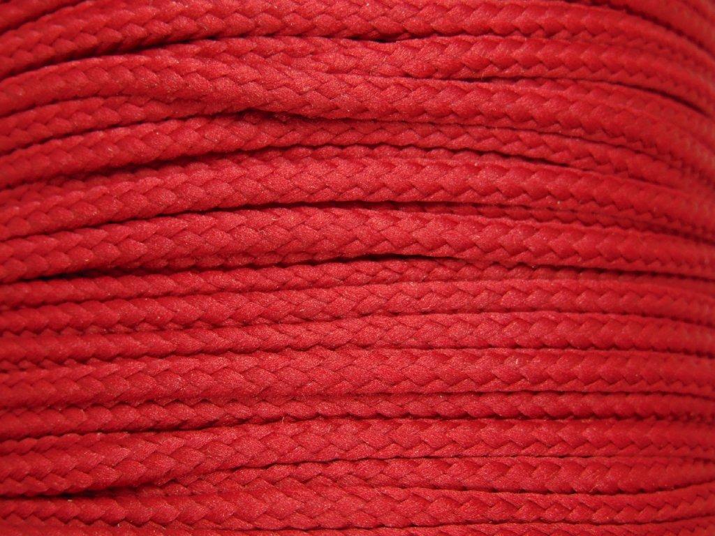 Polyesterová šňůra YarnMellow Loopy Vínová