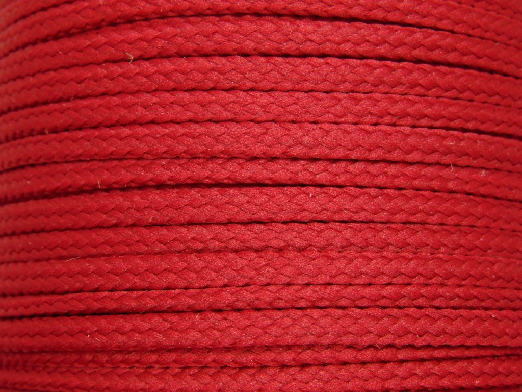 Polyesterová šňůra YarnMellow Loopy Granátová