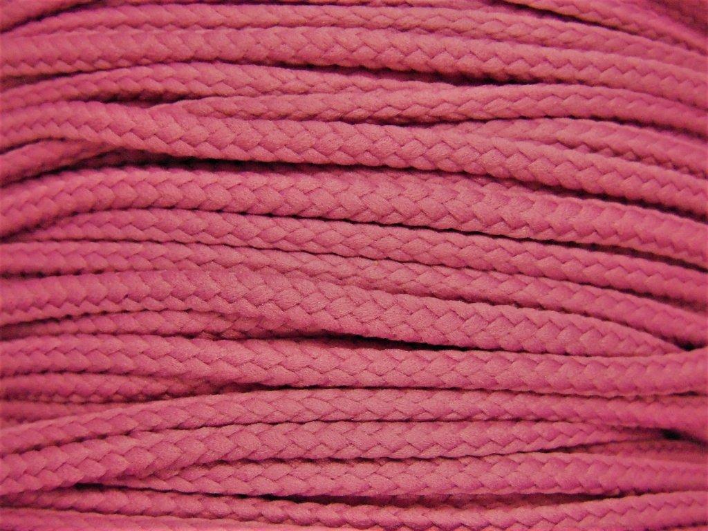 Polyesterová šňůra YarnMellow Loopy Amarant