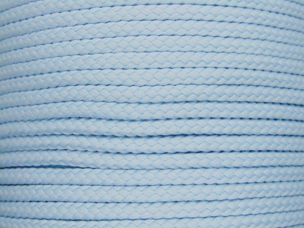 Polyesterová šňůra YarnMellow Loopy Dětská modrá