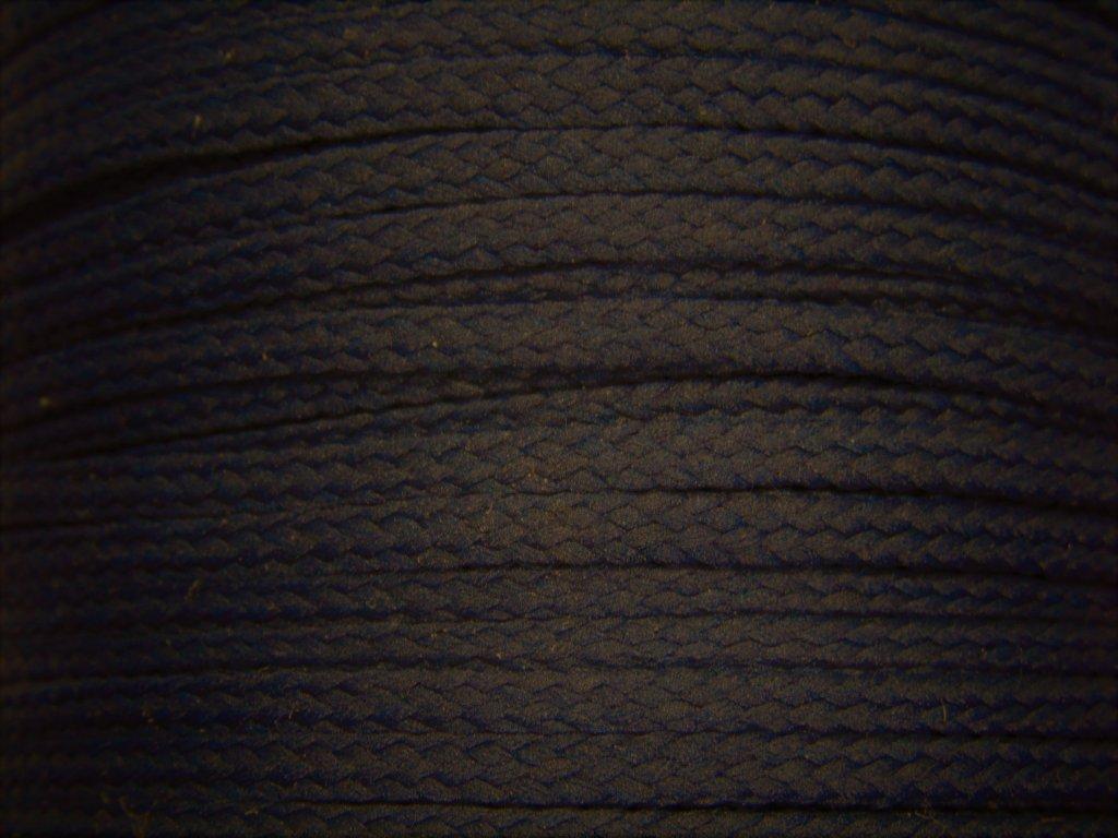 Polyesterová šňůra YarnMellow Loopy Temně modrá