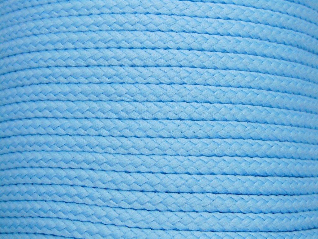 Polyesterová šňůra YarnMellow Loopy Pomněnka
