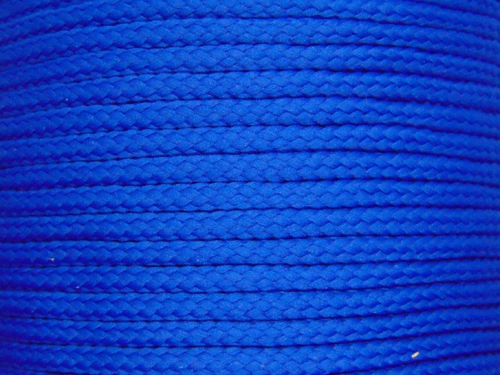 Polyesterová šňůra YarnMellow Loopy Letní modrá