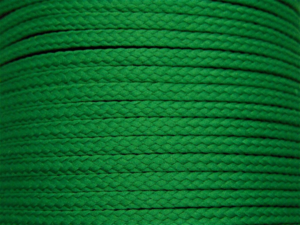 Polyesterová šňůra YarnMellow Loopy Smaragd
