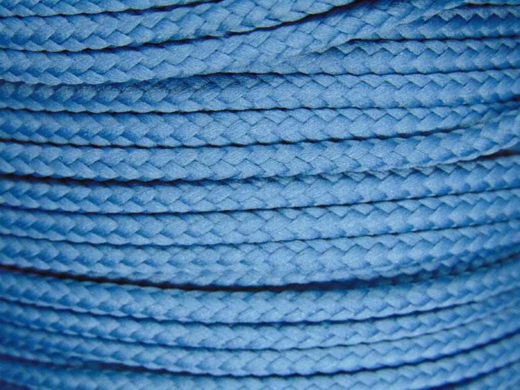Polyesterová šňůra YarnMellow Loopy Saská modř