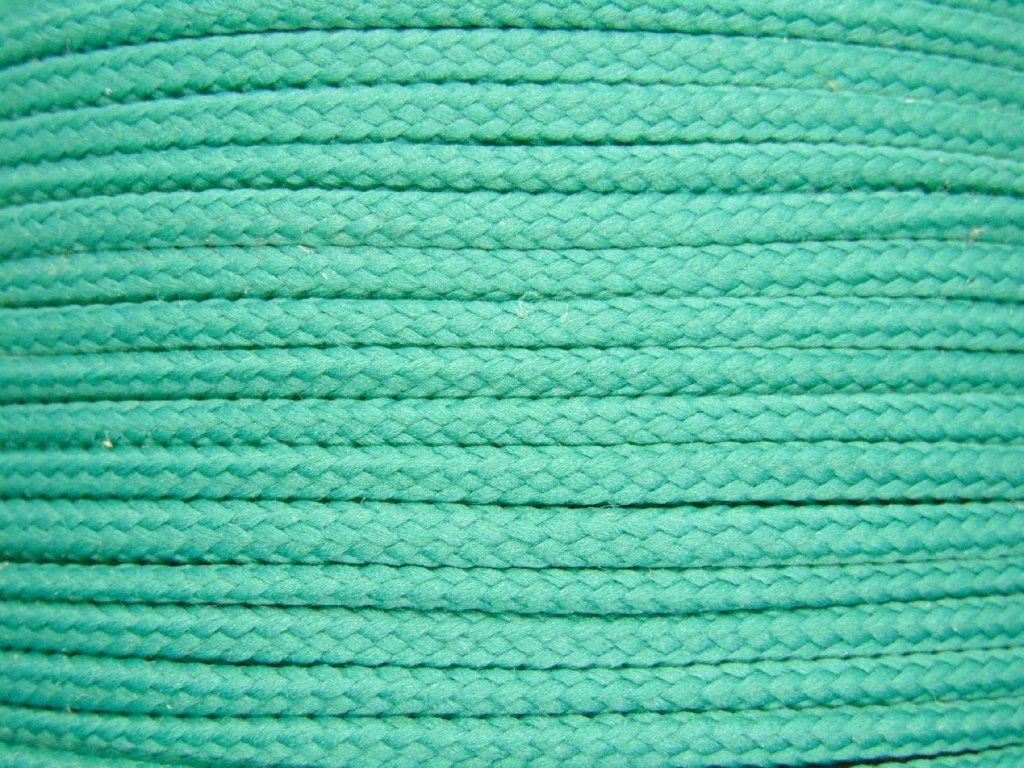 Polyesterová šňůra YarnMellow Loopy Tyrkysová modrá